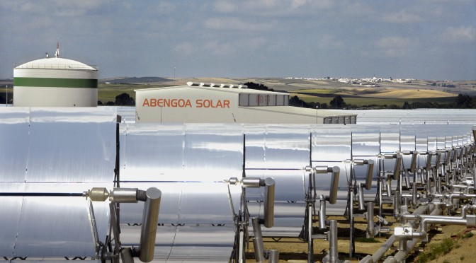 Concentrating Solar Power Abengoa announces its results for the first half of 2012