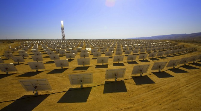 SolarReserve concentrating solar power