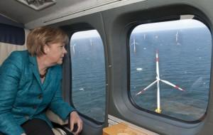 Merkel wind energy