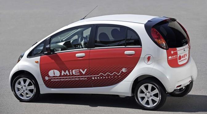 Mitsubishi i miev evolution scores impressive 2nd place for Castellano electric motors inc
