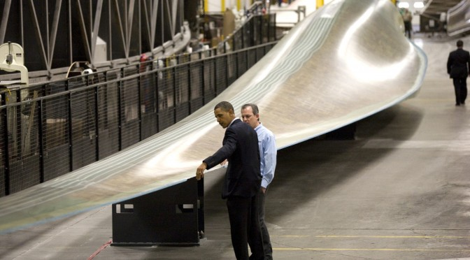 President Obama Tours Siemens Energy Inc Facility