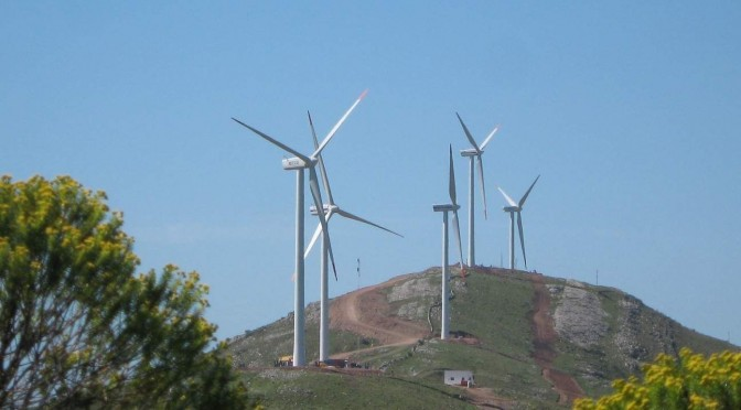 Uruguay could become the world leader in wind energy generation by 2015