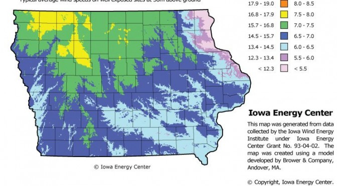 Iowa wind energy