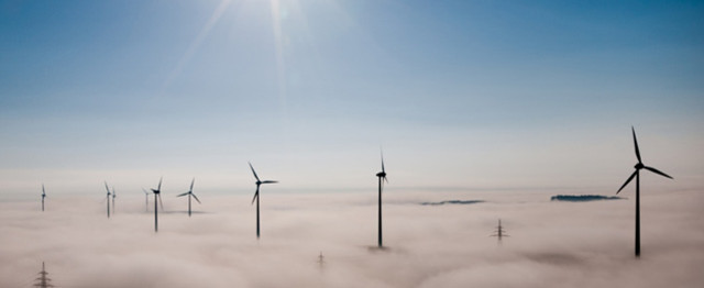 Wind Farm Installed In Central Wellington