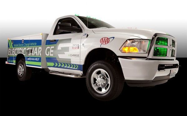 AAA Offering Mobile Emergency Charging for Electric Vehicles