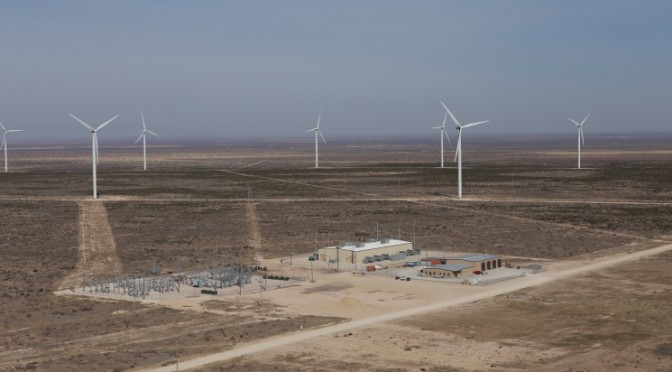 Records broken in Texas, wind power competes, California utility hits milestone