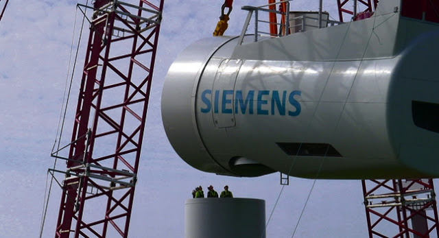 Siemens 6MW direct drive offshore wind turbines