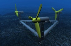 Integrated hydrogen system for tidal energy storage