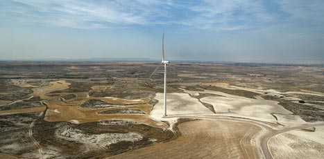 Wind energy reaches a quarter of Romania's power production