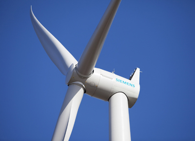Siemens to supply Direct-Drive Wind Turbines to France