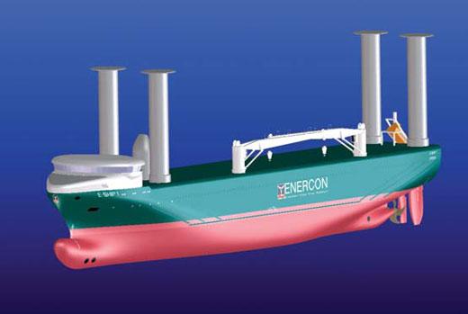 Enercon: Rotor sail ship E-Ship 1 saves up to 25% fuel