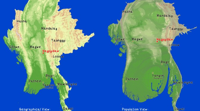 Myanmar wind energy: Feasibility studies are underway for developing commercial wind farms