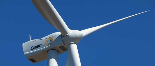 Gamesa consolidates its presence in Brazil with a contract to supply 210 MW of wind turbines to Casa dos Ventos