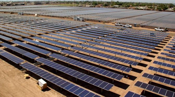 Central fotovoltaica Grupo TSolar California