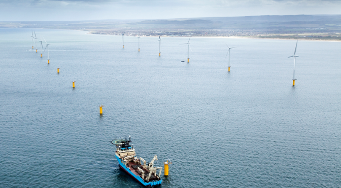 First electricity delivered from Dudgeon Offshore Wind Farm
