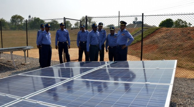 New solar power plant at Sri Lanka