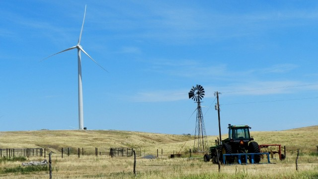 Wind farm expansion in Nebraska has begun