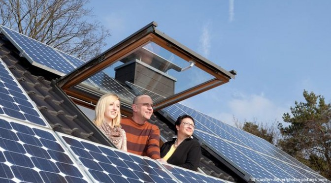 Germany set new solar power records