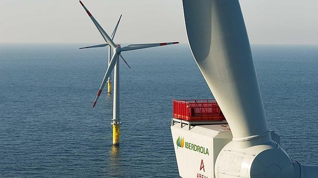 Offshore wind energy: Iberdrola wind farm in the UK with 108 wind turbines from Siemens