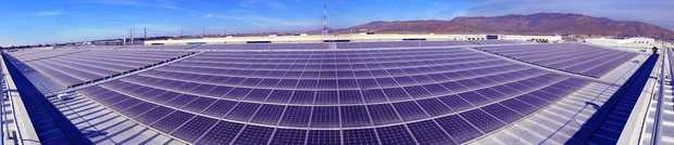 Mexico's largest rooftop photovoltaic solar energy array features SolarWorld panels