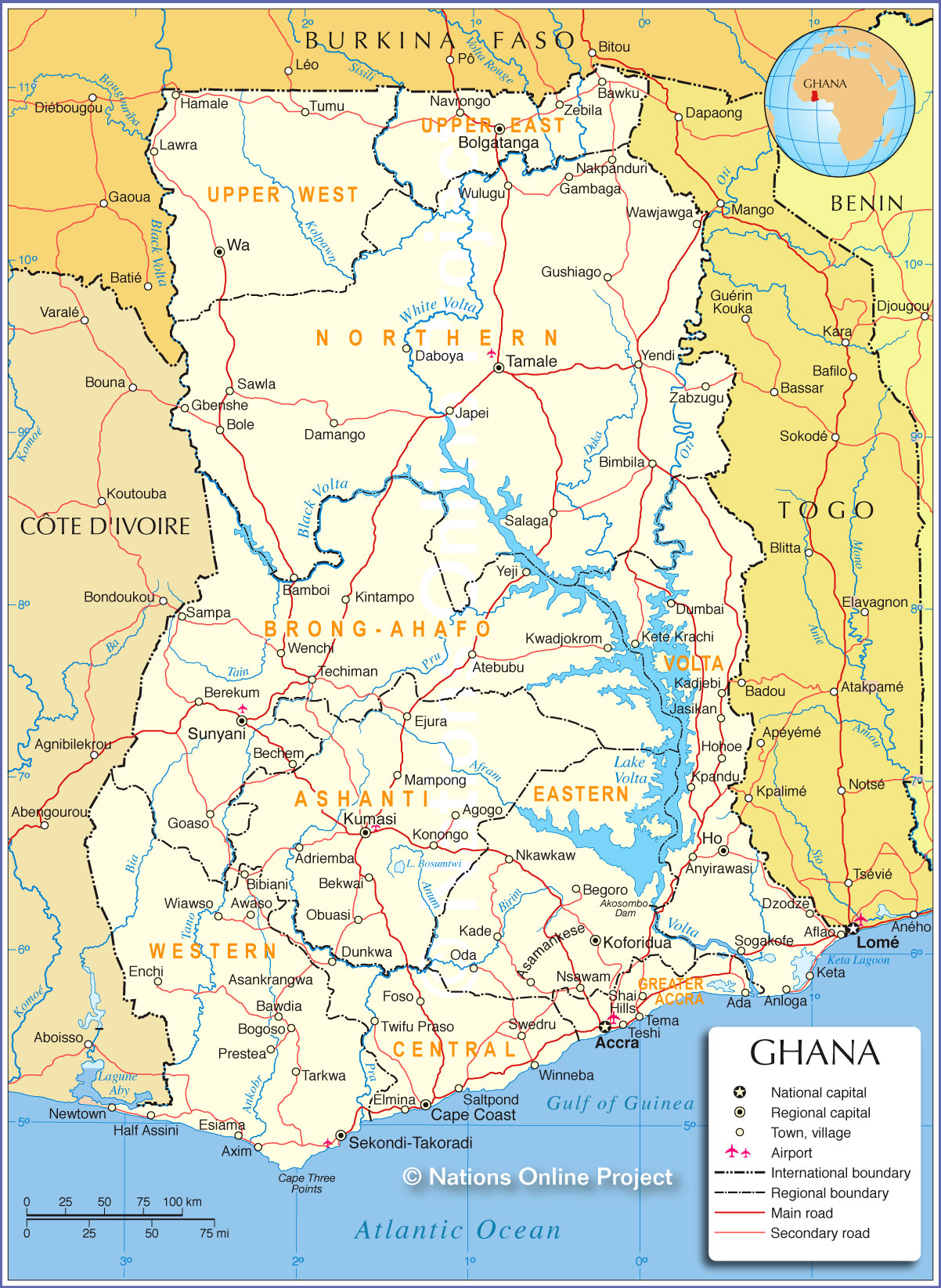 Ghana S First Wind Farm Reve News Of The Wind Sector In