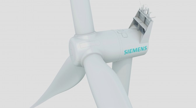 Getriebelose Siemens Technology für ein küstennahes, schlüsselfertiges Projekt / Siemens gearless technology for a nearshore turnkey project