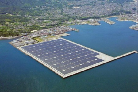 photovoltaic Japan Kyocera floating
