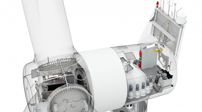 Direktantrieb für schwedischen Windpark / Direct drive technology for Swedish wind farm