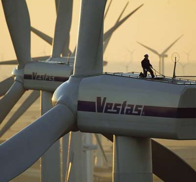 Wind energy in China: Vestas wind turbines for wind farms