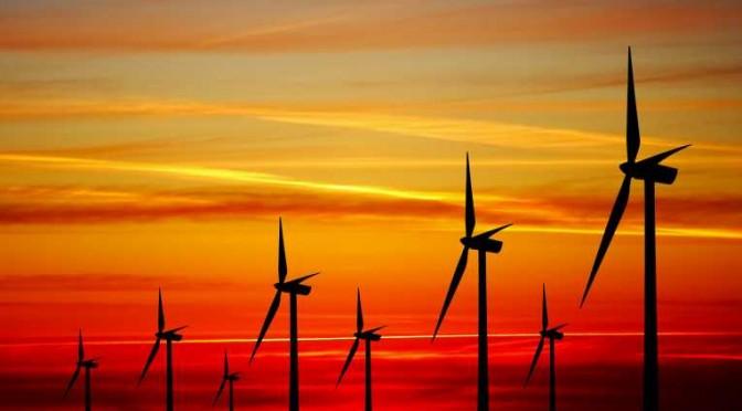 wind-turbines aerogeneradores