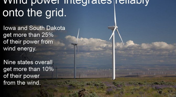 New study finds that 40 percent wind energy can be reliably integrated
