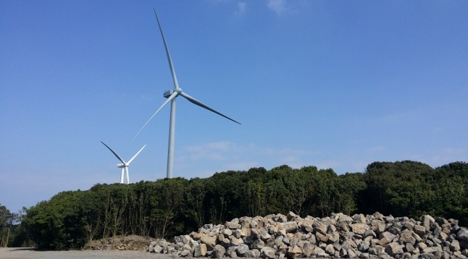 ECO110-3MW turbines installed at the nearby Gimnyeong wind farm