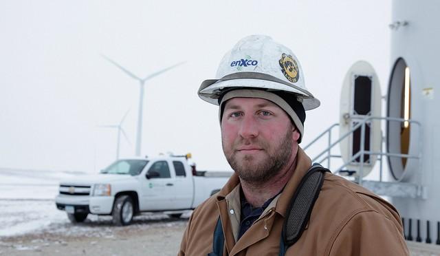 Iowa's wind energy jobs
