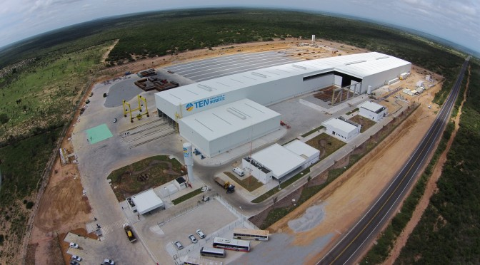 Alstom and Andrade Gutierrez open new unit for the wind energy market in Brazil