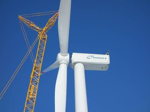 Nordex wind power announces 21% increase in sales