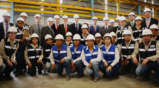 Wind energy in Mexico: Acciona Windpower inaugurates the first concrete tower production plant