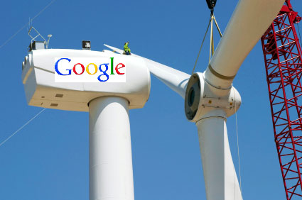 Google recognized for outstanding contributions to wind energy