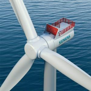 Das neue Flaggschiff unter den Siemens Offshore-Windturbinen, SWT-7.0-154 / Siemens' new flagship offshore wind turbine, SWT-7.0-154