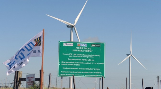 Wind energy in Uruguay: IDB approved loans to support two wind power projects