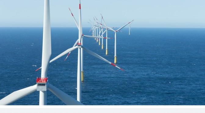 Germany's DanTysk Offshore Wind Power plant inaugurated with 80 Siemens wind turbines