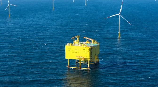 Siemens übergibt mit SylWin1 die dritte Nordsee-Netzanbindung an TenneT / Siemens hands over the third North Sea grid connection SylWin1 to TenneT