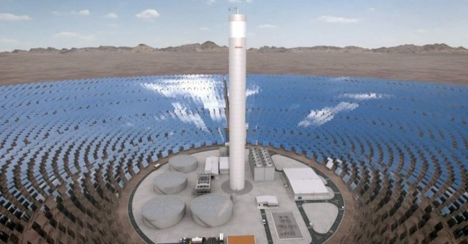 Chilean mines are turning to renewable energy: CSP, PV and wind power