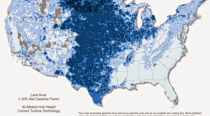 New wind turbines to expand wind power to whole U.S.