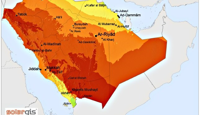 Saudi Arabia solar energy exports, Concentrated Solar Power and photovoltaic, absolutely realistic