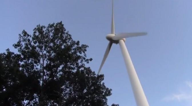 An edifying moment for an aspiring videographer on wind energy