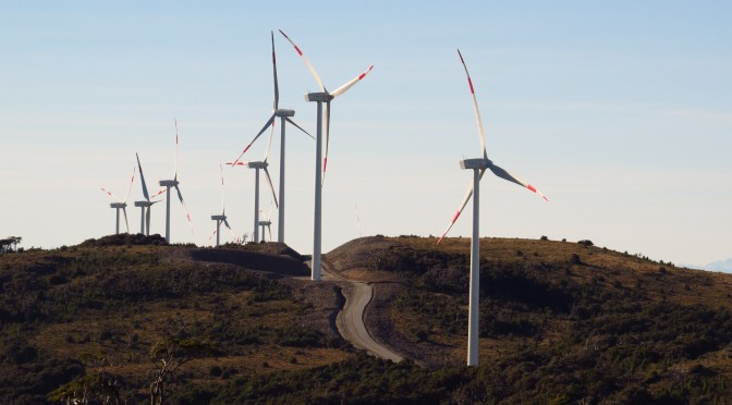 Abengoa starts commissioning tests of the Campo Palomas wind farm in Uruguay