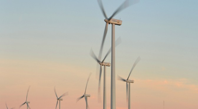 Wind power in Chile: Gamesa 5 MW wind turbines for a wind farm