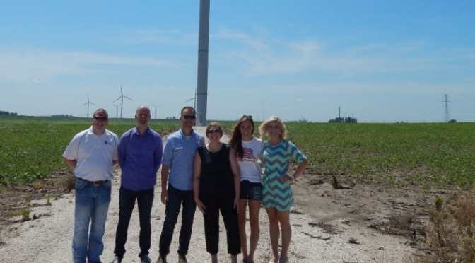 My week in Iowa talking to Presidential candidates about wind power