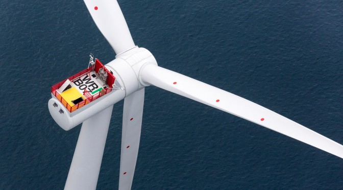 Wind energy in Great Britain: Siemens wind turbines for offshore wind power plant
