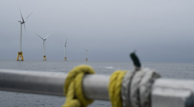 Offshore wind energy near the Big Apple draws intense bidding